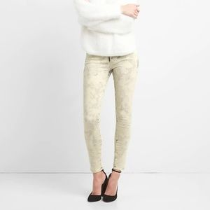 GAP Acid Wash Stretch Skinny Jean [RARE + UNIQUE]
